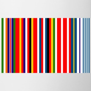 Europe Barcode Flag - Mug