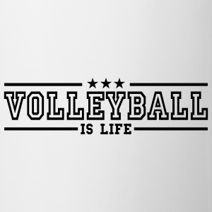 volleyball is life deluxe Kubki - Kubek