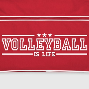 volleyball is life deluxe Torby - Torba retro