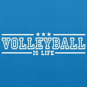 volleyball is life deluxe Bags  - EarthPositive Tote Bag