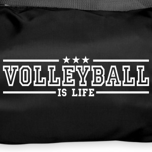 volleyball is life deluxe Borse - Borsa sportiva