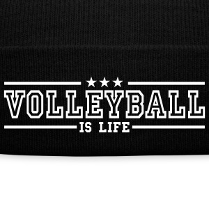 volleyball is life deluxe Czapki  - Czapka zimowa