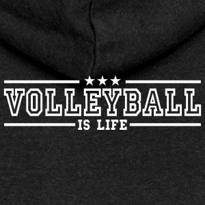 volleyball is life deluxe Jacks - Vrouwenjack met capuchon Premium