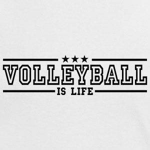 volleyball is life deluxe T-shirts - T-shirt contraste Femme