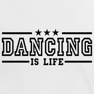 dancing is life deluxe Camisetas - Camiseta contraste mujer