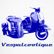 Design ~ side-car vespa