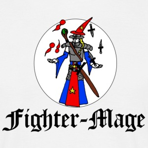 Fighter Mage - Männer T-Shirt