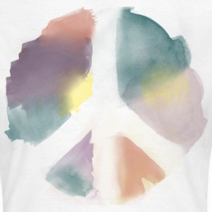 Water Color Peace Aquarell T-Shirts - Frauen T-Shirt