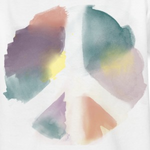 Water Color Peace Aquarell Kinder T-Shirts - Teenager T-Shirt