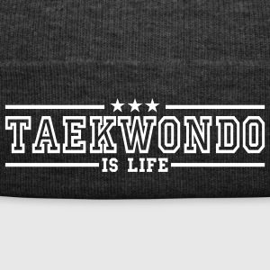 taekwonde is life deluxe Caps & Hats - Winter Hat