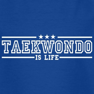 taekwonde is life deluxe Kids' Shirts - Teenage T-shirt