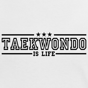 taekwonde is life deluxe T-shirts - Dame kontrast-T-shirt