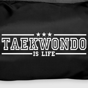 taekwonde is life deluxe Bags  - Duffel Bag