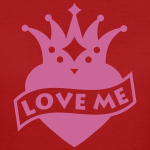 Purple Love me T-Shirts - Women's Organic T-shirt