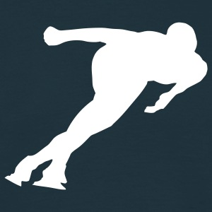speed skating Men's T-Shirts - Men's T-Shirt