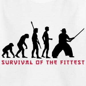 evolution_samurai_2c Shirts - Teenager T-shirt