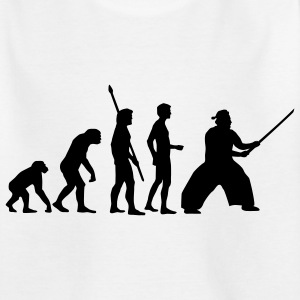 evolution_samurai_b_1c T-shirts - Teenager-T-shirt