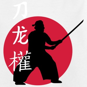 samurai_dragon_power_sword_3c T-shirts - Teenager-T-shirt