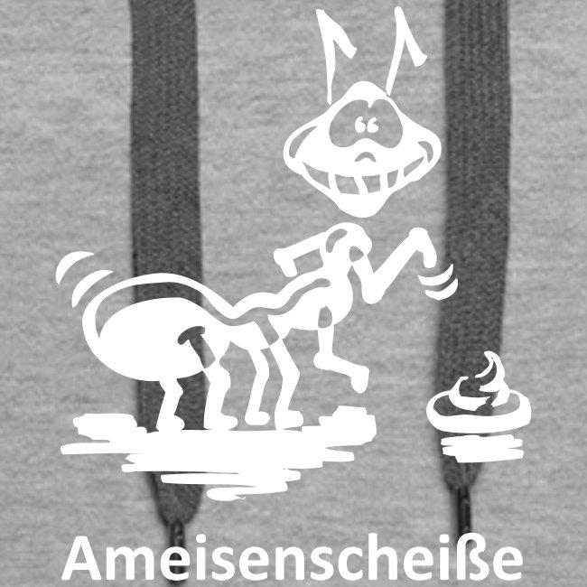 Kapuzenpullover für Frauen Ameisenscheiße