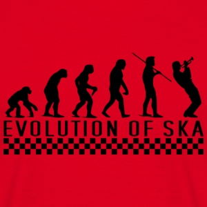 evolution of ska - Männer T-Shirt