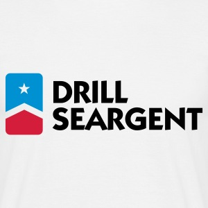 Drill Seargent (3c) T-shirts - Mannen T-shirt