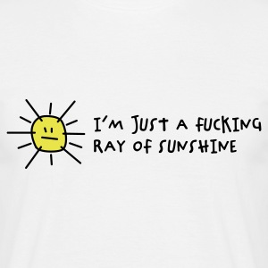 I'm a fucking ray of sunshine (2c) Men's T-Shirts - Men's T-Shirt