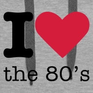Ontwerp ~ I Love the 80's Sweater