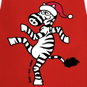 Christmas Zebra  Aprons - Cooking Apron