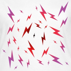 Emo Lightning T-Shirts - Women's T-Shirt