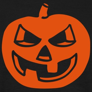 halloween_pumpkin_1c_black T-skjorter - T-skjorte for menn