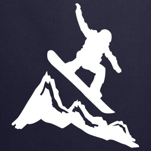 snowboard mountains jump Tabliers - Tablier de cuisine
