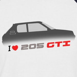 I love 205 gti  T-shirts - T-shirt baseball manches courtes Homme