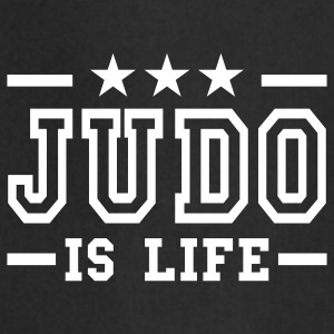 judo is life deluxe  Aprons - Cooking Apron