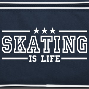 skating is life deluxe Sacs - Sac Retro