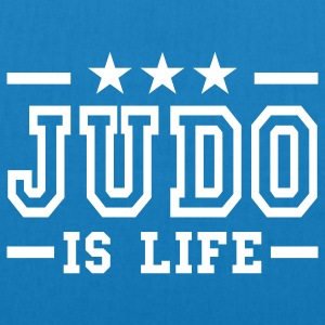 judo is life deluxe Bags  - EarthPositive Tote Bag