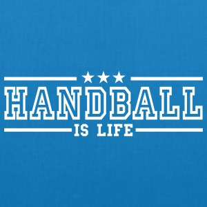 handball is life deluxe Bags  - EarthPositive Tote Bag