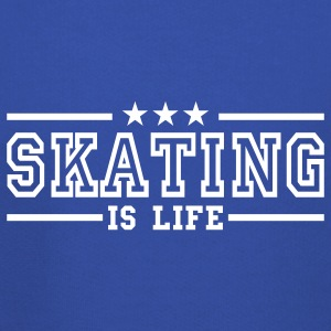 skating is life deluxe Kids' Tops - Kids' Premium Hoodie