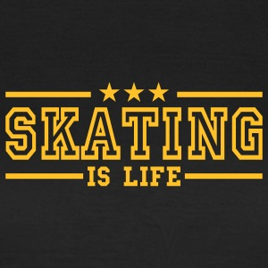 skating is life deluxe Camisetas - Camiseta mujer