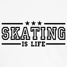 skating is life deluxe T-Shirts