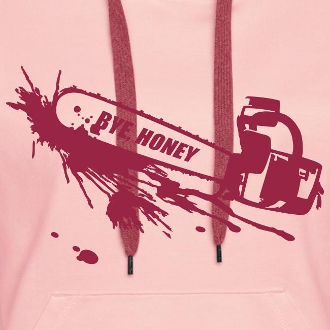 BYE, HONEY! hoodie cute pink