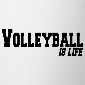 volleyball is life Kubki - Kubek