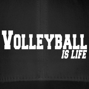 volleyball is life Gorras - Gorra de béisbol Flexfit