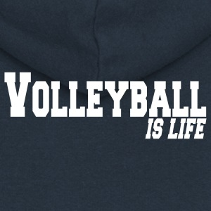 volleyball is life Jacken - Frauen Premium Kapuzenjacke
