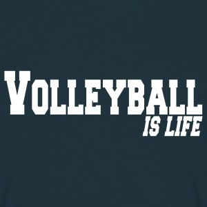 volleyball is life Men's T-Shirts - Men's T-Shirt
