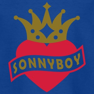 Mit Herz & Krone - SONNYBOY | Kindershirt - Teenager T-Shirt