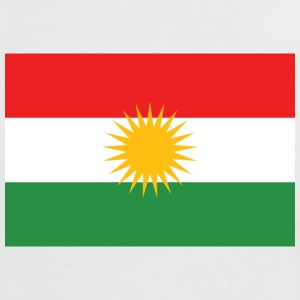 Flag of Kurdistan - Women's Ringer T-Shirt