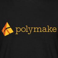 Design ~ polymake men's t-shirt (orange)