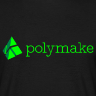 Design ~ polymake men's t-shirt (green)