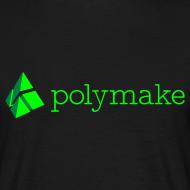 Design ~ polymake men's t-shirt (green)