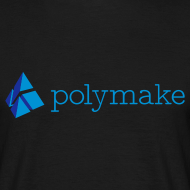 Design ~ polymake men's t-shirt (blue)
